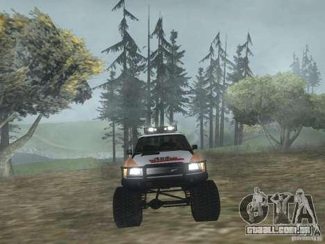 Tornalo 2209SX 4x4 para GTA San Andreas vista direita