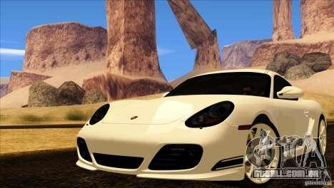 Porsche Cayman R 987 2011 V1.0 para GTA San Andreas