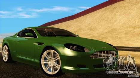Aston Martin DB9 para GTA San Andreas interior
