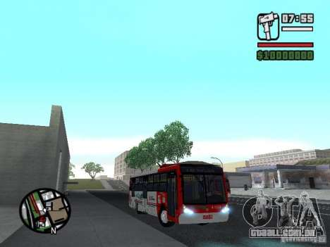 Caio Millennium TroleBus para GTA San Andreas vista traseira
