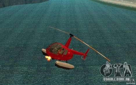 Robinson R44 Clipper II 1.0 para GTA San Andreas