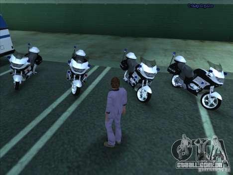 CopBike para GTA San Andreas esquerda vista