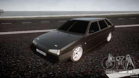 Lada VAZ 2109 para GTA 4 vista de volta