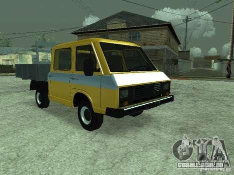 RAPH 3311 Pickup para GTA San Andreas vista traseira