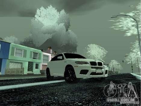 BMW X6M E72 para GTA San Andreas vista direita