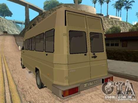 Iveco Turbo Daily para GTA San Andreas vista direita