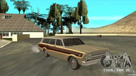 Ford Country Squire 1966 para GTA San Andreas vista traseira