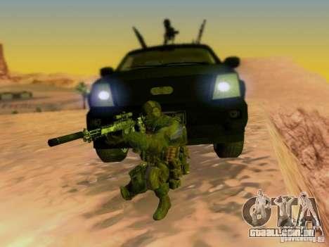 Suv Call Of Duty Modern Warfare 3 para o motor de GTA San Andreas