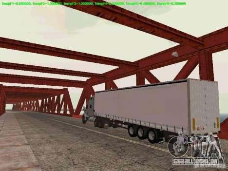 Peterbilt 387 para GTA San Andreas vista direita