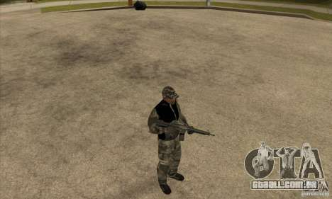 Roupa de camuflagem para GTA San Andreas terceira tela