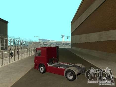Mercedes Actros Tracteur 3241 para GTA San Andreas esquerda vista