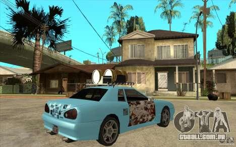 Elegy Rost Style para GTA San Andreas vista direita