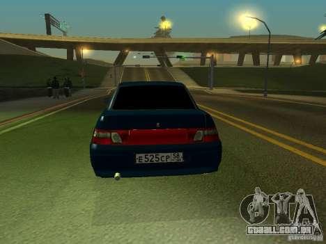 VAZ 2110 para GTA San Andreas vista direita
