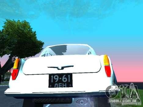 Moskvitch 403 com polícia para GTA San Andreas vista direita