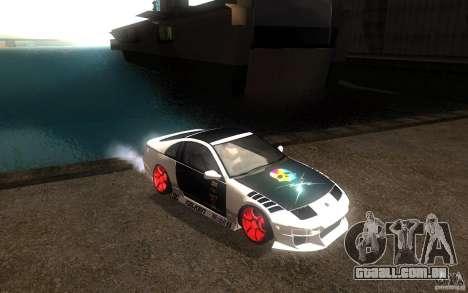 Nissan 300ZX para GTA San Andreas vista interior