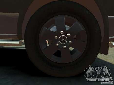 Mercedes-Benz Sprinter 2500 para GTA 4 vista superior