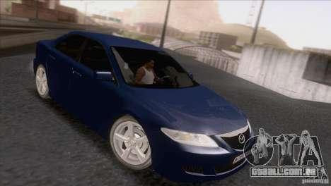 Mazda 6 2006 para GTA San Andreas esquerda vista