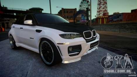 BMW X 6 Hamann para GTA 4 vista direita
