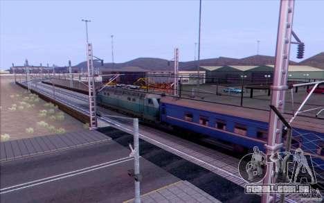 COMBOIO Russo versão v 1.0 para GTA San Andreas por diante tela