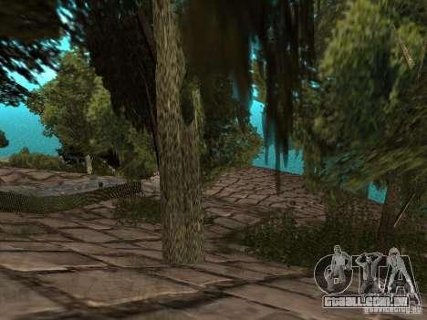 Stone Mountain para GTA San Andreas quinto tela