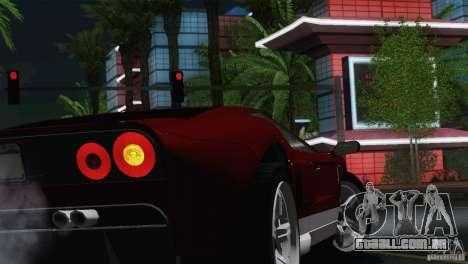 Bullet GT from TBOGT para GTA San Andreas vista direita
