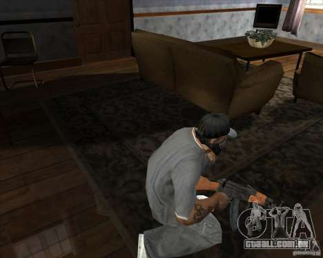 AK-47 atualizado para GTA San Andreas terceira tela