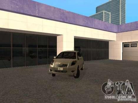 Toyota Yaris Sport 2008 para GTA San Andreas