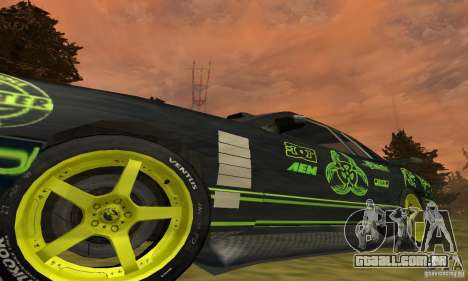 Lime Vinyl For Elegy para GTA San Andreas