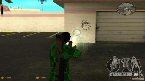 Cs 1.6 HUD v2 para GTA San Andreas por diante tela