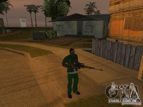 CLEO armas para GTA San Andreas terceira tela