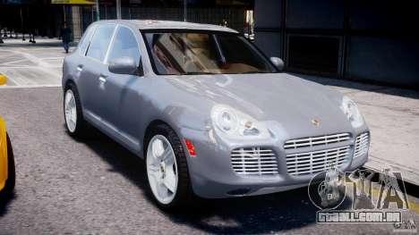 Porsche Cayenne 955 Turbo v1.0 para GTA 4 vista interior