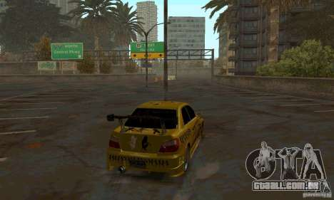 NFS Most Wanted - Paradise para GTA San Andreas sexta tela