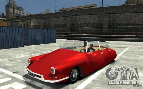 Citroen ID 19 para GTA 4