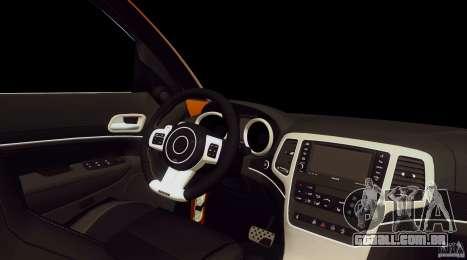 Infiniti FX37 v1 para GTA San Andreas vista direita