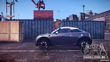 Mini Coupe Concept v0.5 para GTA 4 esquerda vista