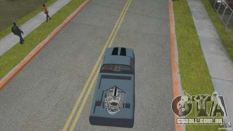 Chevrolet Silverado Mini Truckin 1996 para GTA San Andreas vista traseira