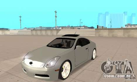 Nissan Skyline 350GT 2003 para GTA San Andreas