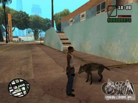 Animals in Los Santos para GTA San Andreas terceira tela