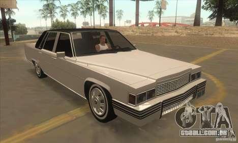 GTA IV Emperor para GTA San Andreas vista traseira
