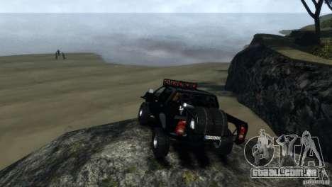 Toyota Hilux Trophytruck para GTA 4 vista direita