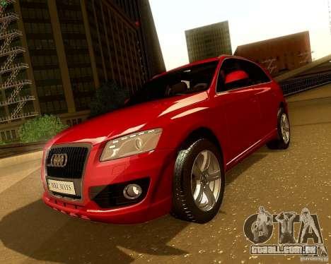 Audi Q5 para GTA San Andreas vista direita