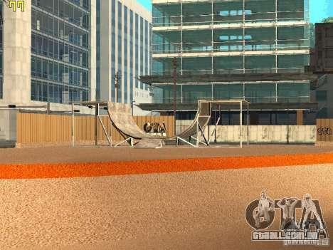 New SkatePark v2 para GTA San Andreas segunda tela