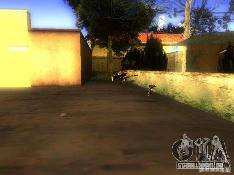 Armas na Grove Street para GTA San Andreas segunda tela