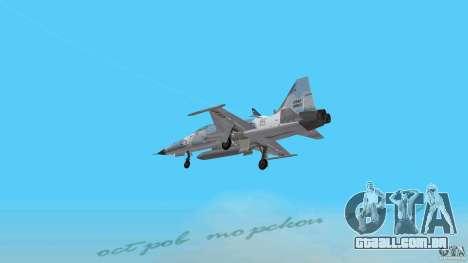 US Air Force para GTA Vice City deixou vista