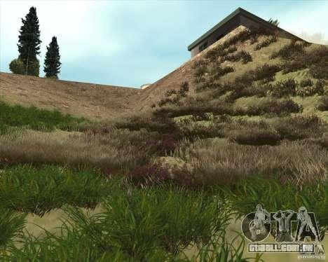 Grass form Sniper Ghost Warrior 2 para GTA San Andreas segunda tela
