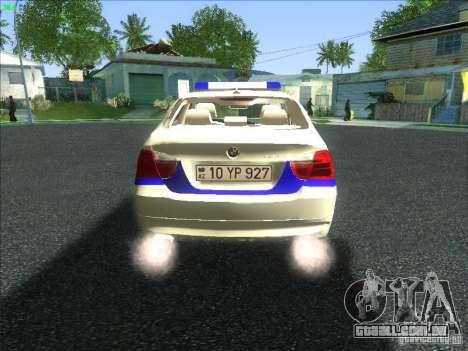BMW 330i YPX para GTA San Andreas vista direita