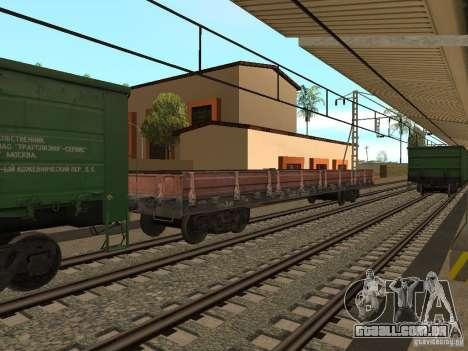 Modificação da estrada de ferro III para GTA San Andreas décimo tela
