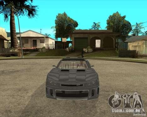 Teoria de Barss Grand turismo para GTA San Andreas vista traseira