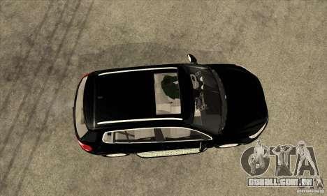 Volkswagen Tiguan 2.0 TDI 2012 para GTA San Andreas vista traseira