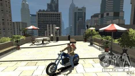 The Lost and Damned Bikes Hexer para GTA 4 esquerda vista